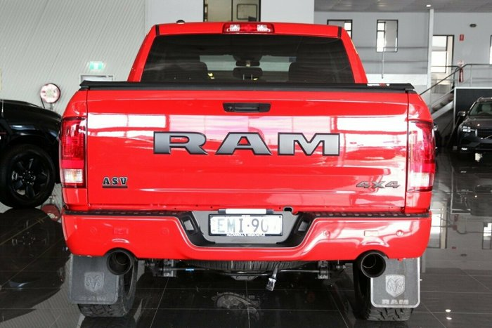 2020 RAM 1500 Express MY20 4X4 Dual Range FLAME RED
