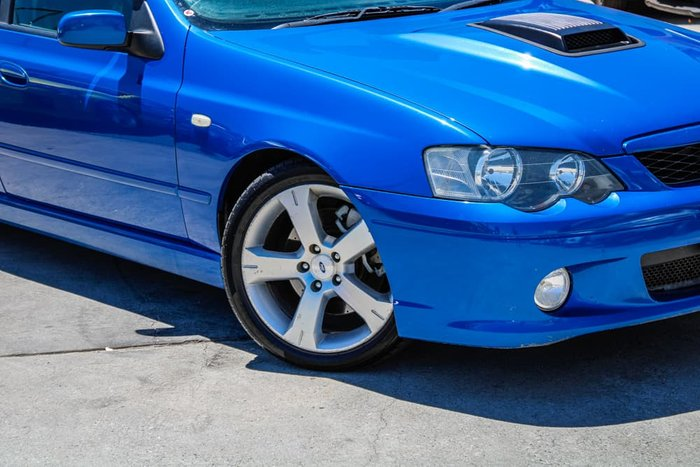 2005 Ford Falcon Ute XR8 BA Mk II Blue