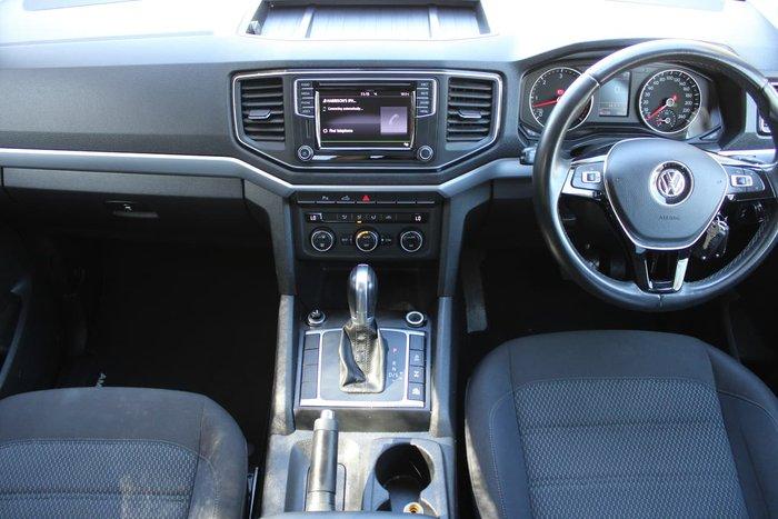 2017 Volkswagen Amarok TDI550 Sportline 2H MY17.5 4X4 Constant Blue