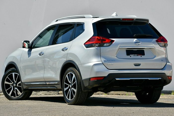 2020 Nissan X-TRAIL Ti T32 Series II 4X4 On Demand BRILLIANT SILVER