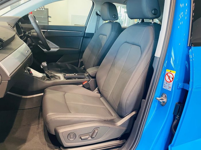 2020 Audi Q3 35 TFSI S Line F3 MY21 Blue