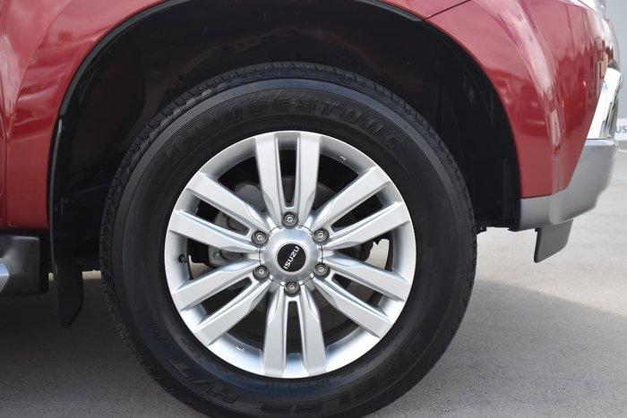 2018 Isuzu MU-X LS-U MY18 4X4 Dual Range Maroon
