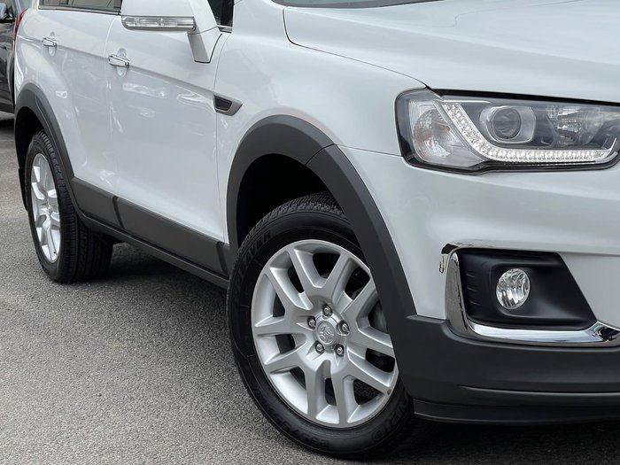 2016 Holden Captiva Active CG MY17 White