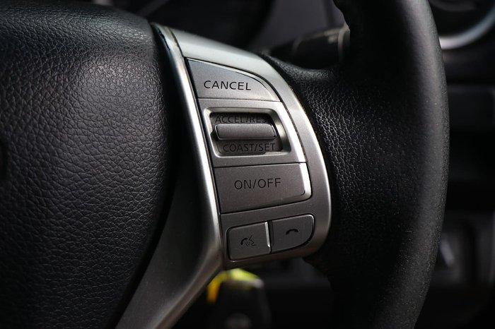 2016 Nissan Navara ST D23 4X4 Dual Range Black