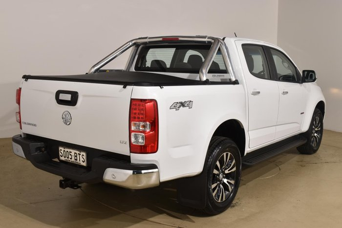 2017 Holden Colorado LTZ RG MY18 4X4 Dual Range Summit White