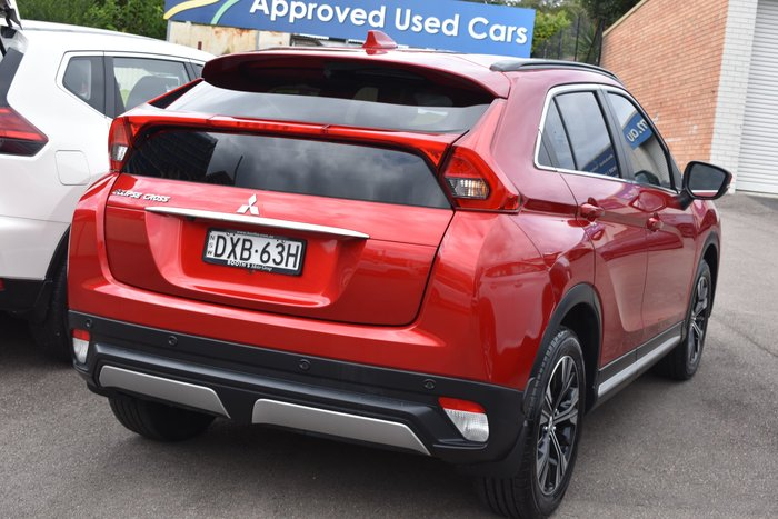 2018 Mitsubishi Eclipse Cross Exceed YA MY18 Brilliant Red