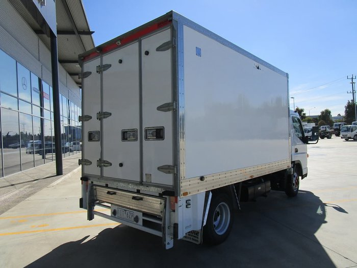2016 FUSO CANTER 515 FRIDGE VAN -AUTO WHITE