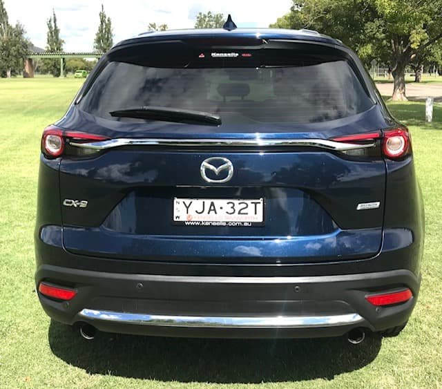 2017 Mazda CX-9 GT TC Deep Crystal Blue