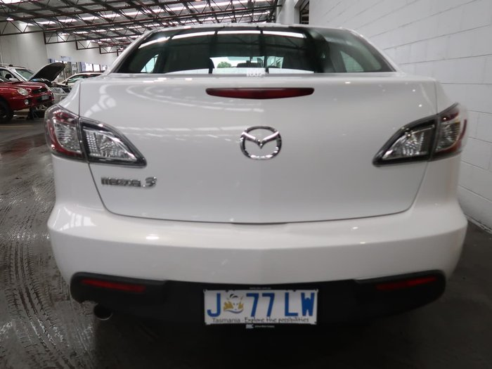 2011 Mazda 3 Neo BL Series 1 MY10 White