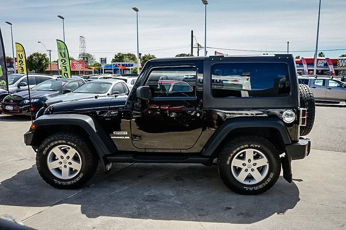 2011 Jeep Wrangler Sport JK MY11 4X4 Black