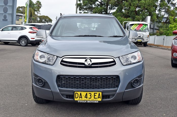 2013 Holden Captiva 7 SX CG MY13 Smokey Eye