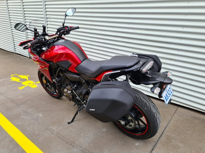 2017 Yamaha MT-07 Tracer MT Red