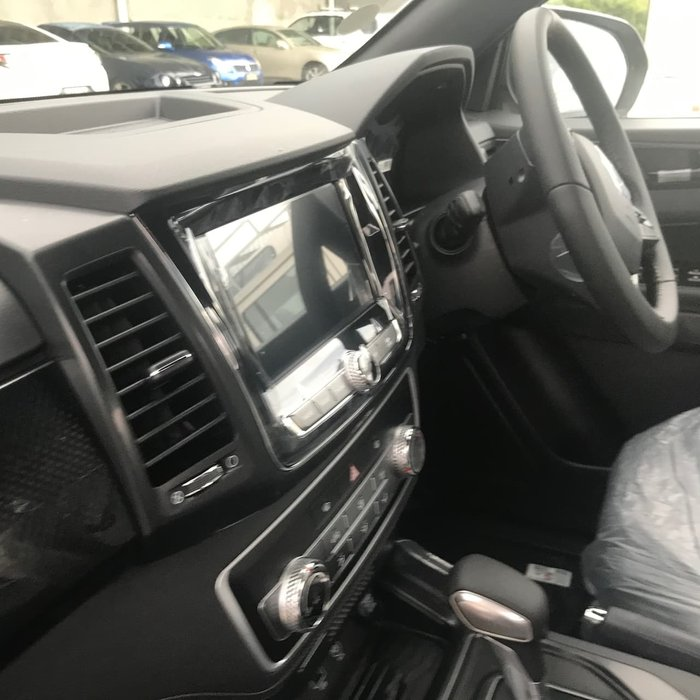 2020 SsangYong Musso ELX Q200 MY20.5 4X4 Dual Range Silky White Pearl