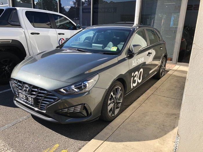 2020 Hyundai i30 Elite PD.V4 MY21 Grey