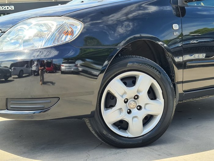 2003 Toyota Corolla Ascent ZZE122R Black