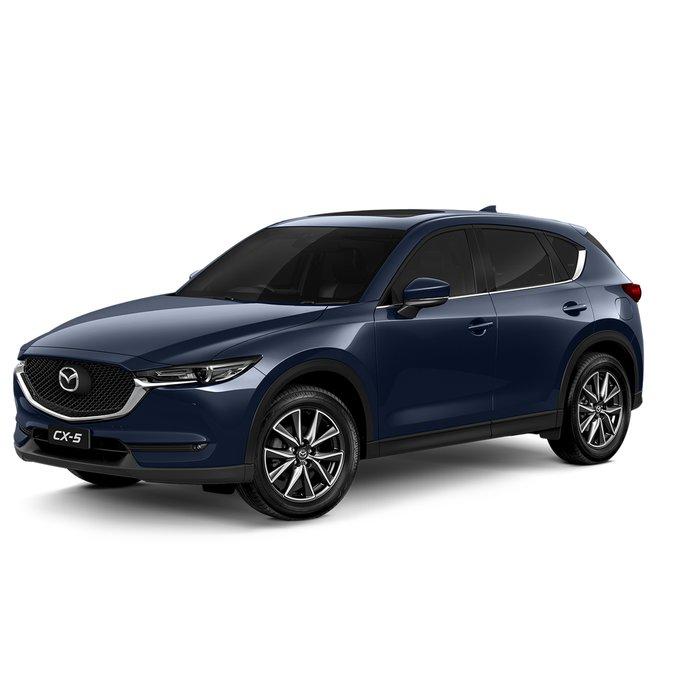2021 Mazda CX-5 GT KF Series AWD Deep Crystal Blue