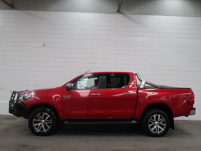 2018 Toyota Hilux SR5 GUN126R 4X4 Dual Range Red