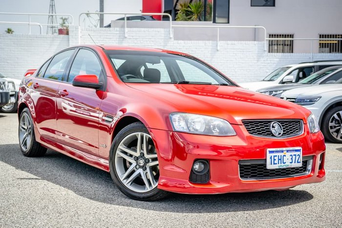 2012 Holden Commodore SV6 VE Series II MY12 Red