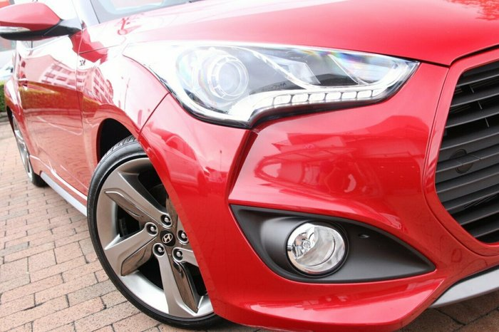 2014 Hyundai Veloster SR Turbo FS3 RED