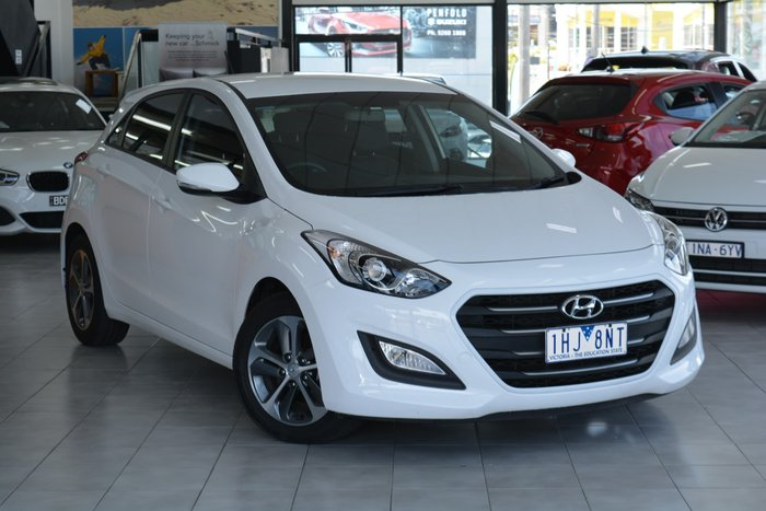 2016 Hyundai i30 Active X GD4 Series II MY17 Polar White