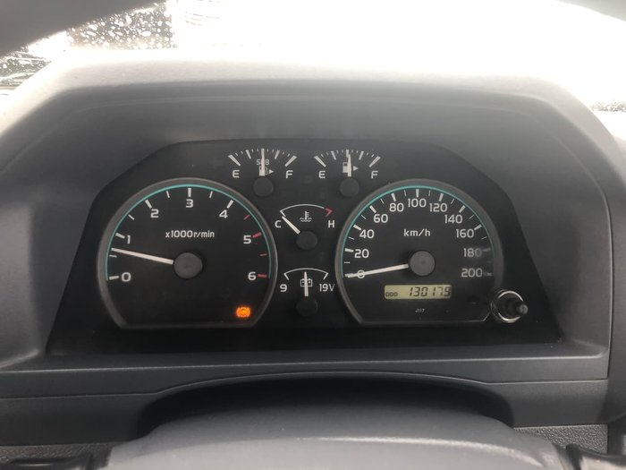 2014 Toyota Landcruiser GX VDJ79R 4X4 Dual Range White