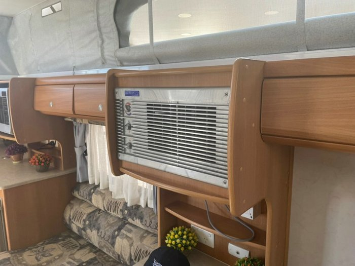 2008 JAYCO DISCOVERY WHITE