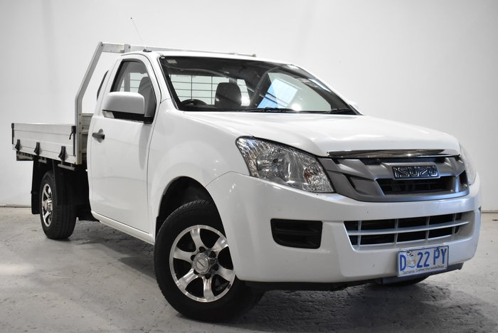 2014 Isuzu D-MAX SX MY14 Splash White
