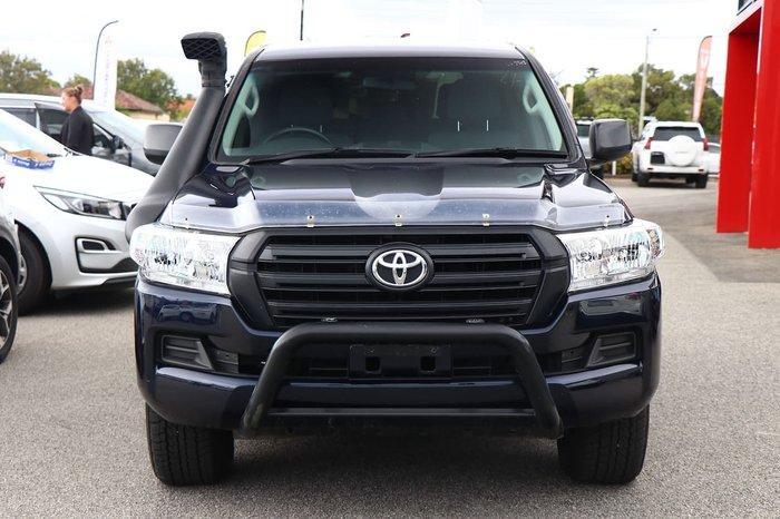 2018 Toyota Landcruiser GX VDJ200R 4X4 Dual Range Blue