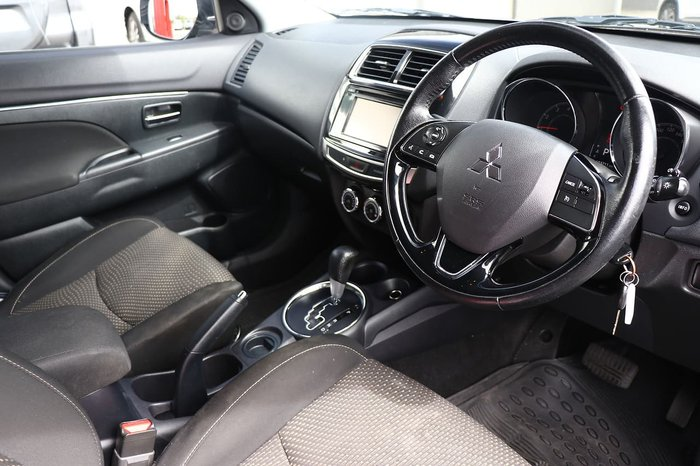 2016 Mitsubishi ASX LS XB MY15.5 Silver