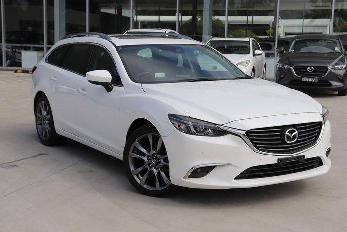 2016 Mazda 6 GT GL Series White