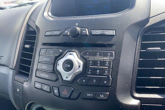 2012 Ford Ranger XL PX 4X4 Dual Range White