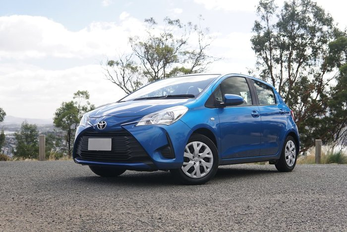 2017 Toyota Yaris Ascent NCP130R Blue
