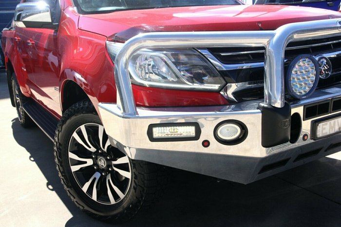 2017 Holden Colorado LTZ RG MY17 RED