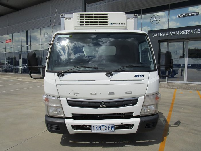 2017 FUSO CANTER 515 FRIDGE VAN -AUTO WHITE