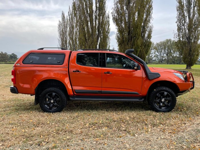 2015 Holden Colorado Z71 RG MY16 4X4 Dual Range Orange Rock