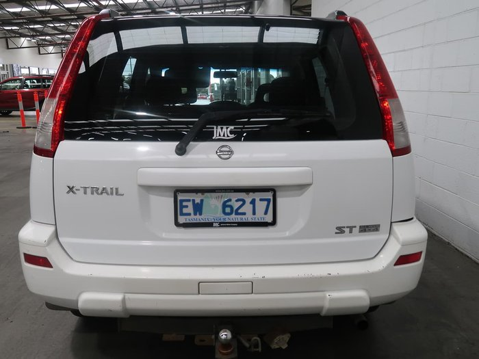 2002 Nissan X-TRAIL ST T30 4X4 On Demand White