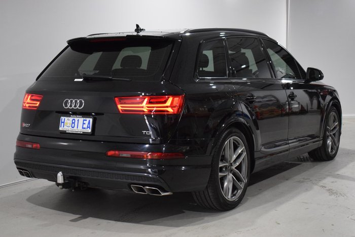 2017 Audi SQ7 TDI 4M MY18 Four Wheel Drive Black