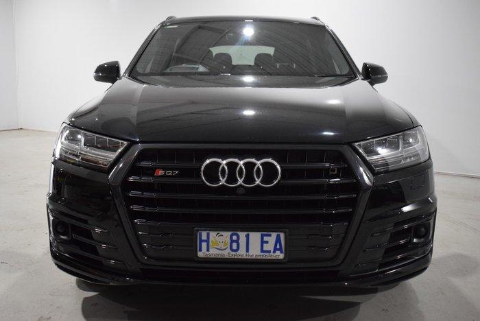 2017 Audi SQ7 TDI 4M MY18 Four Wheel Drive Black