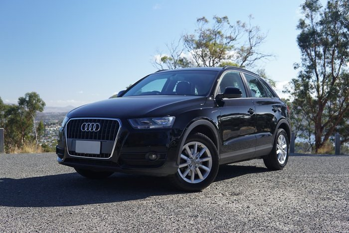 2014 Audi Q3 TFSI 8U MY14 Four Wheel Drive Black