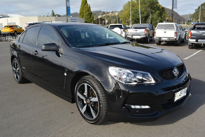 2016 Holden Commodore SV6 Black VF Series II MY16 Black