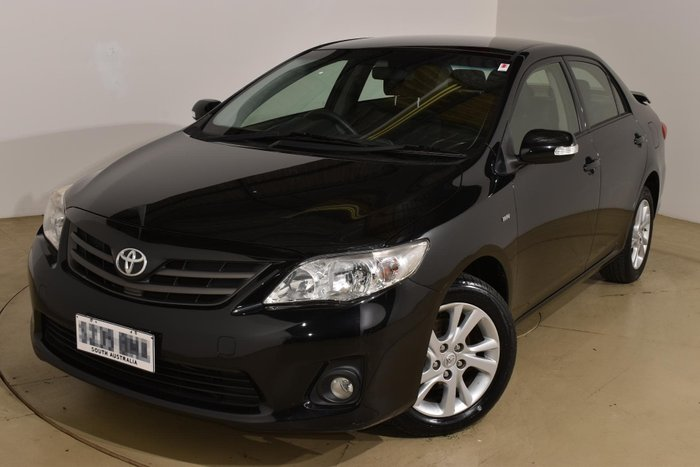 2012 Toyota Corolla Ascent Sport ZRE152R Black