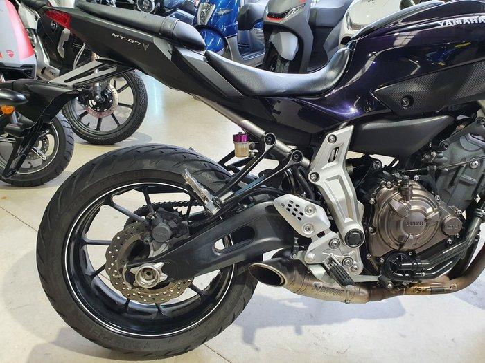 2014 Yamaha MT-07 Purple