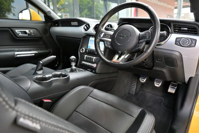 2016 Ford Mustang GT FM MY17 Triple Yellow