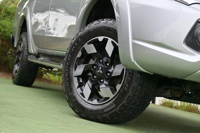 2015 Mitsubishi Triton Exceed MQ MY16 4X4 Dual Range Sterling Silver