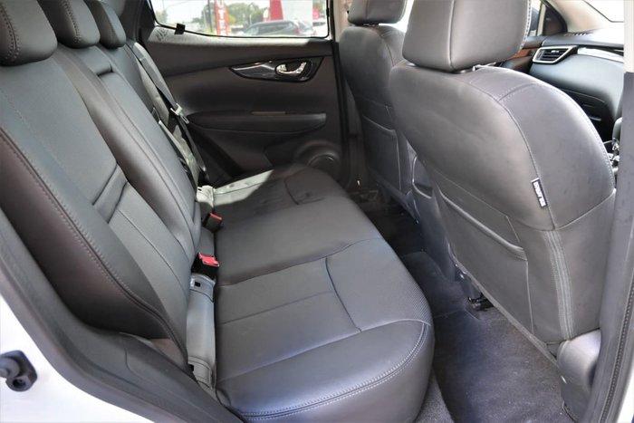 2016 Nissan QASHQAI Ti J11 Ivory Pearl