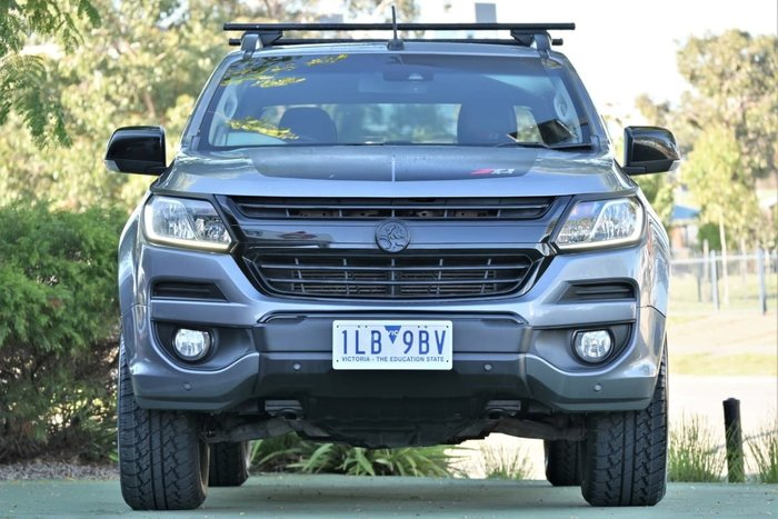 2016 Holden Colorado Z71 RG MY17 4X4 Dual Range Satin Steel Grey