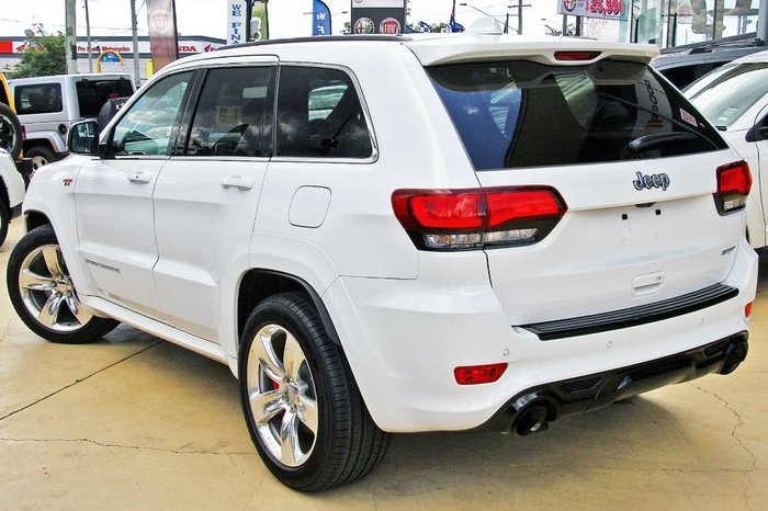2016 Jeep Grand Cherokee SRT WK MY15 4X4 On Demand White