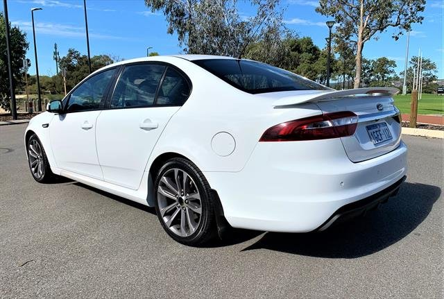 2016 FORD Falcon XR6 FG X XR6 Sedan 4dr Spts Auto 6sp 4.0i WHITE