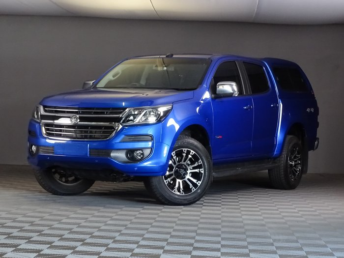 2020 Holden Colorado LTZ RG MY20 4X4 Dual Range Power Blue