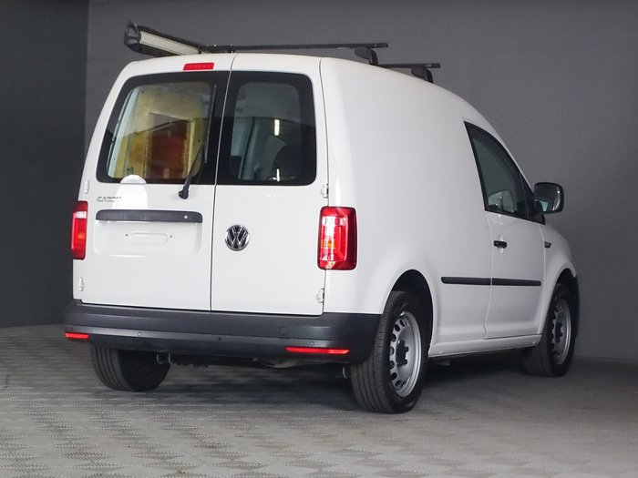 2019 Volkswagen Caddy TSI220 2KN MY19 Candy White